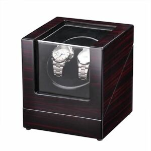 Deluxe-Wood-Watch-Winder-Storage-Display-Case-Organizer-Box-Automatic-Rotation