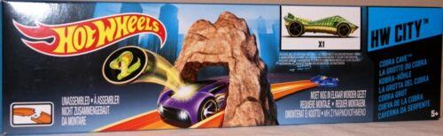 5Mattel X9275 Hot Wheels Kobra Höhle inkl. 1x Hot Wheels Auto NEU / OVP