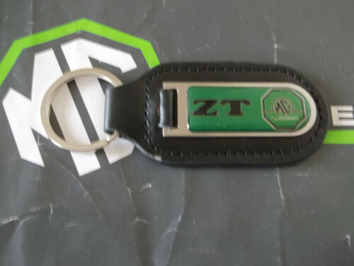 MGZT MG ZT MGZT-T Genuine Leather Keyfob Keyring  MG Xpower Logo mgmanialtd.com