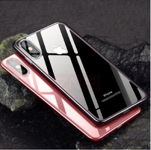 Ultra-Slim-iPhone-X-Schutz-Huelle-TPU-Case-Silikon-Cover-Clear-Transparent-Klar
