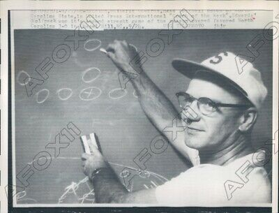 1960 North Carolina State University Football Coach of ...