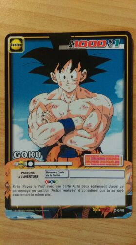 Carte Dragon Ball Z Goku D-645