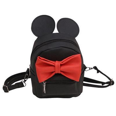 Moonlitt Mini Mouse Ears Backpack Preschool Bookbag Cartoon Travel Shoulder Daypack for Little Girls