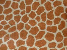GIRAFFE Print Fabric Fat Quarter Cotton Craft Quilting Jungle Babies