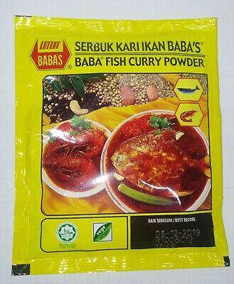 BABA Fish Curry Powder (Serbuk Kari Ikan BABA'S) | eBay