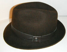 item 1 NEW Men s GENUINE STETSON DELUXE brown 100% WOOL FEDORA Hat size  MEDIUM -NEW Men s GENUINE STETSON DELUXE brown 100% WOOL FEDORA Hat size  MEDIUM cd6e81a1925