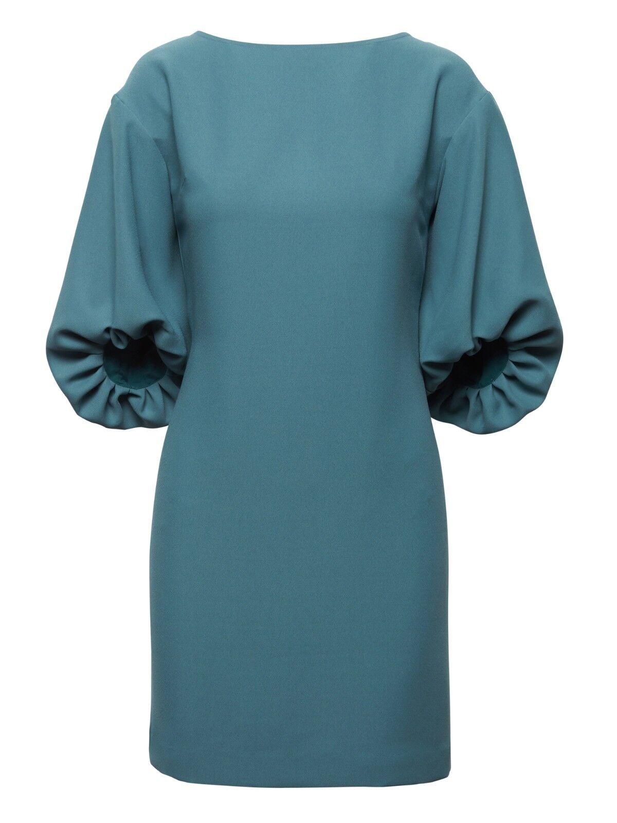 Banana Republic Balloon-Sleeve Dress,Amagansett Blau Größe 6T 6 T    E312