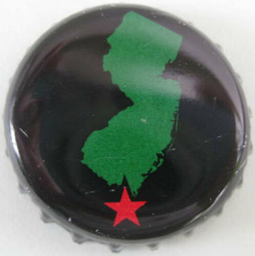 Red STAR Bottle CAP with Outline of NEW JERSEY Details about  /CAPE MAY BEER used Beer CROWN