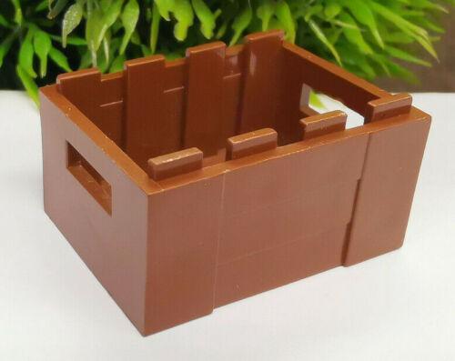 1x Lego® KIste Box Containerbox Truhe braun dunkelbraun K#6