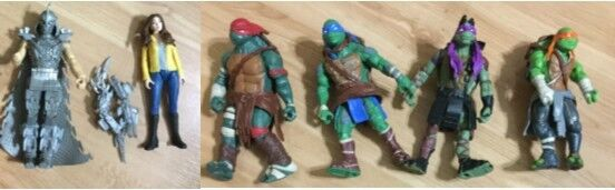 Playmates 2014 Teenage  Mutant Ninja Turtles Movie azione cifras by Viacom  negozi al dettaglio