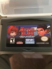 Metal Slug Advance (Nintendo Game Boy Advance, 2004) GBA