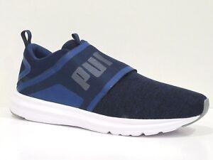 39ec38ba9c7131 Image is loading PUMA-Men-039-s-Enzo-Strap-Knit-Sneaker-