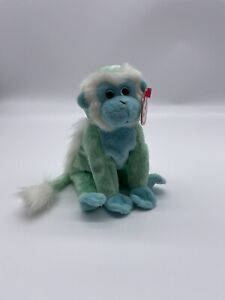 TY 2005 ZOOMER the MONKEY BEANIE BABY - MINT w/ TAGS - Beanie Baby of the Month