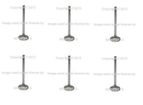 For Mercedes W108 W110 W114 280SEL Set of 6 Intake Valve INTERVALVES 1300530101