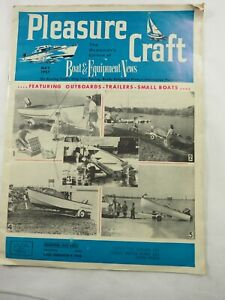Pleasure Craft Magazine Outboards,Trailers and Small Boats May 1957