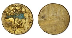 PESI-MONETARI-Spagna-Peso-monetario-della-Mezza-Doppia