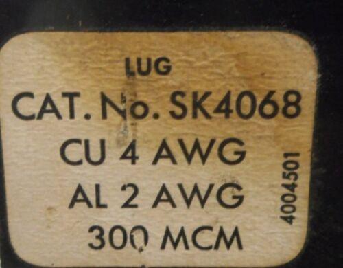 CIRCUIT BREAKER 600 VAC MAX 225A SQUARE D 3 POLE SK4068