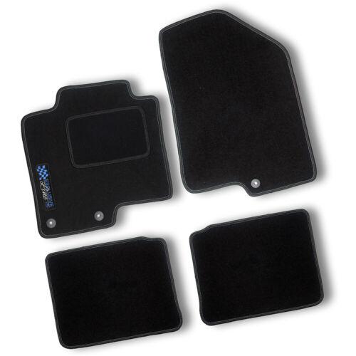 AUTO-TAPPETINI Exclusiv BLACK per FORD FOCUS TIPO 2//da3 2004-2010