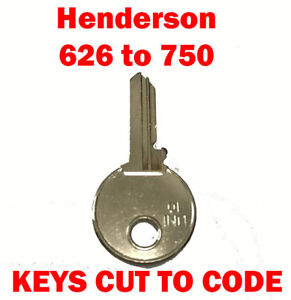 Henderson-626-to-750-Garage-Door-Replacement-Keys-Cut-to-Code