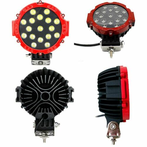 51W LED Work Light Bar LED Roof Light Inspection Lights Car Spotlights For SUV
