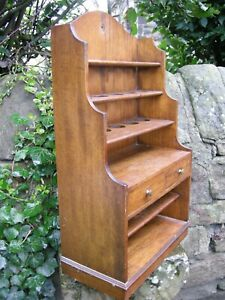 holds Up To 15 Eggs With Drawers & Storage Industrious Edwardian Oak Wall Mounted Egg Rack