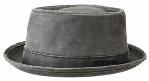 8aa7bfaaa Details about Stetson Sun Guard Vintage Pork Pie Player Hat Hats Odenton 1  Black Trend