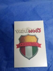 4abf241bd LOT of 5 MEXICO Flag World Cup Coors Light Temporary Tattoos Face ...