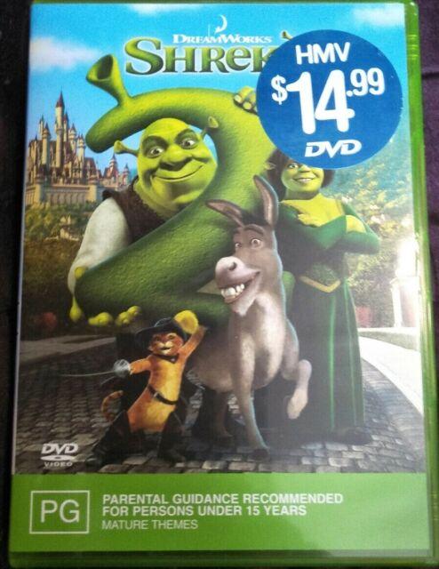 Shrek 2 Dvd Region 4 For Sale Online Ebay