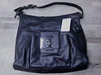 Oh By Joy Gryson Nappa Leather Black Hobo Msrp $316