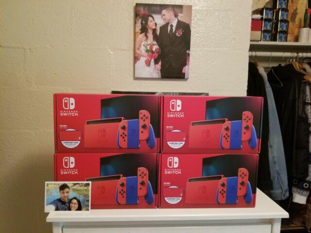 ❤NEW Nintendo Switch Mario Red & Blue Edition - 32GB❤