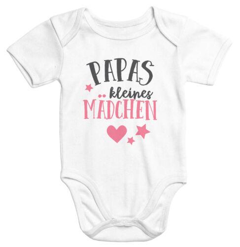 Kurzarm Baby Body Papas kleines Mädchen Bio-Baumwolle Onesie Moonworks®