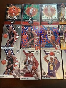 2019-20 Panini Mosaic Optic Hall Of Fame Team USA LOT (28 Cards) Kobe Magic Bird