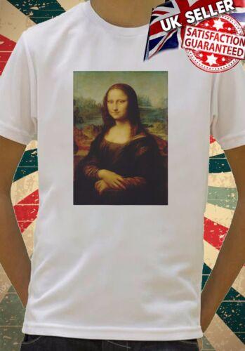 Mona Lisa Leonardo Da Vinci Kids Boys Girls Unisex Top T-Shirt 615