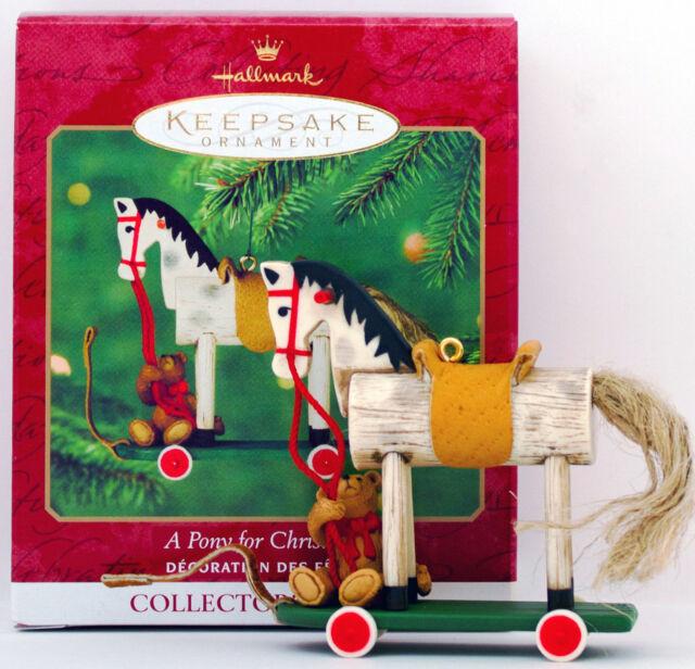 Hallmark Keepsake Ornament a Pony for Christmas 2000 3rd ...