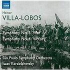Heitor Villa-Lobos - Villa-Lobos: Symphony No. 3 'War'; Symphony No. 4 'Victory' (2013)