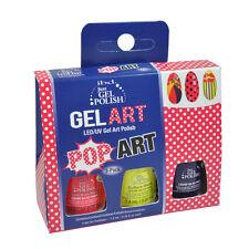 ibd Just Gel UV LED Gel Polish Gel Art Pop Art 3-pack 0.25oz
