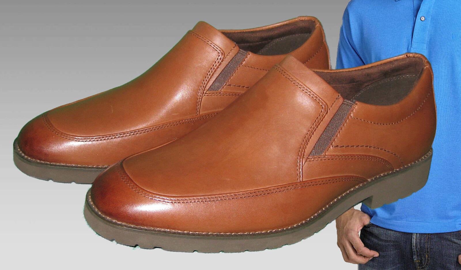 Rockport Hombre OC Roble Circular Sin Cordones Mocasín Con ADIDAS ADIPRENE  Scarpe classiche da uomo