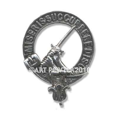Art Pewter Buchanan Clan Crest Cufflinks CCL-C7 Scottish