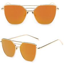 Retro Women's Metal Frame UV400 Aviator Mens Sunglasses Eye Glasses Eyewear