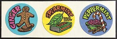 Gordy Cherry Vintage Scratch /& Sniff Sticker