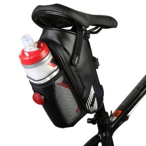 Intsun Waterproof Bike Saddle Bag Mountain Road MTB Bike Carbon Fiber Saddle Bag