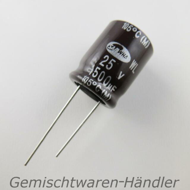 5xmarken Furniture 680µf 50v Electrolytic Capacitor Mf Uf Samwha Capacitor