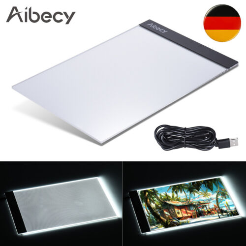 A3 A4 LED Lichttisch Leuchttablett Touchpad Zeichnung Leuchtplatte Grafiktablet