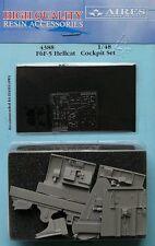 Aires 1/48 F6F-5 Hellcat, cabina Set Para Hasegawa kit # 4388