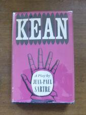 KEAN a play by Jean-Paul Sartre  - 1st/1st  UK  HCDJ 1954 Hamish  - VG