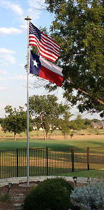 Details about Telepole 20' Superior 1 Telescoping Flagpole-2 75
