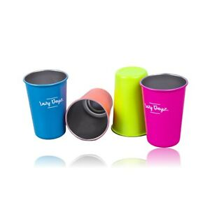 4pk-12oz-Stainless-Steel-Cup-Beach-Picnic-Summer-Camping-BPA-Free-Food-Grade-AU