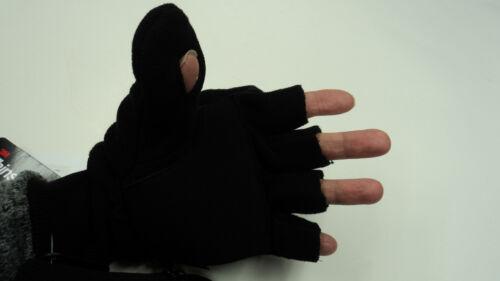 One Size #13-801 Broner Men/'s Fleece Flip-Top Glove Mitten w// Thinsulate