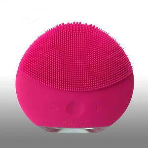 FOREO-LUNA-mini-2-Fuchsia-Facial-Cleansing-Brush-for-All-Skin-Types-No-Box