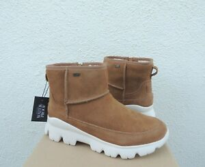 91324cf5bc4 Details about UGG PALOMAR WP CHESTNUT SUEDE SHEEPWOOL ANKLE BOOT SNEAKERS,  US 10/ EUR 41 ~NIB